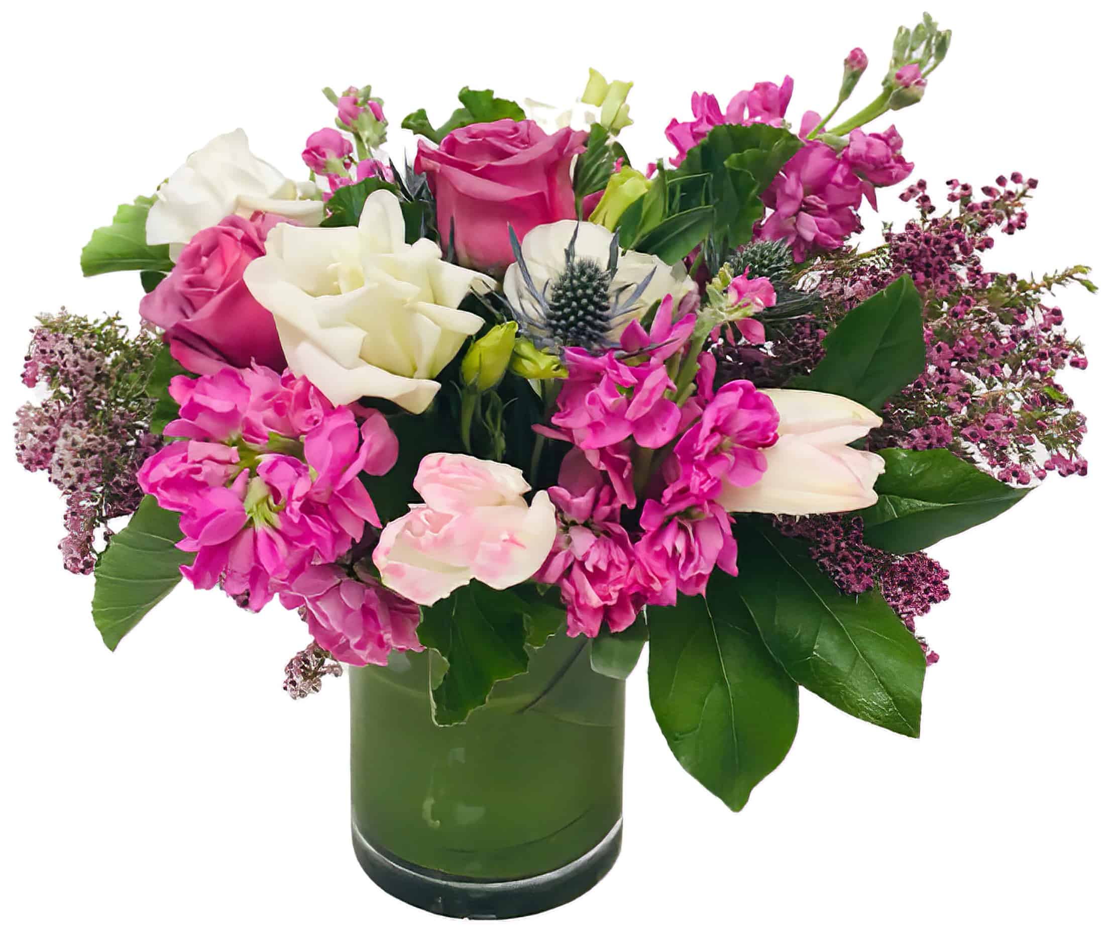 Poppin' Pinks Flower Arrangement