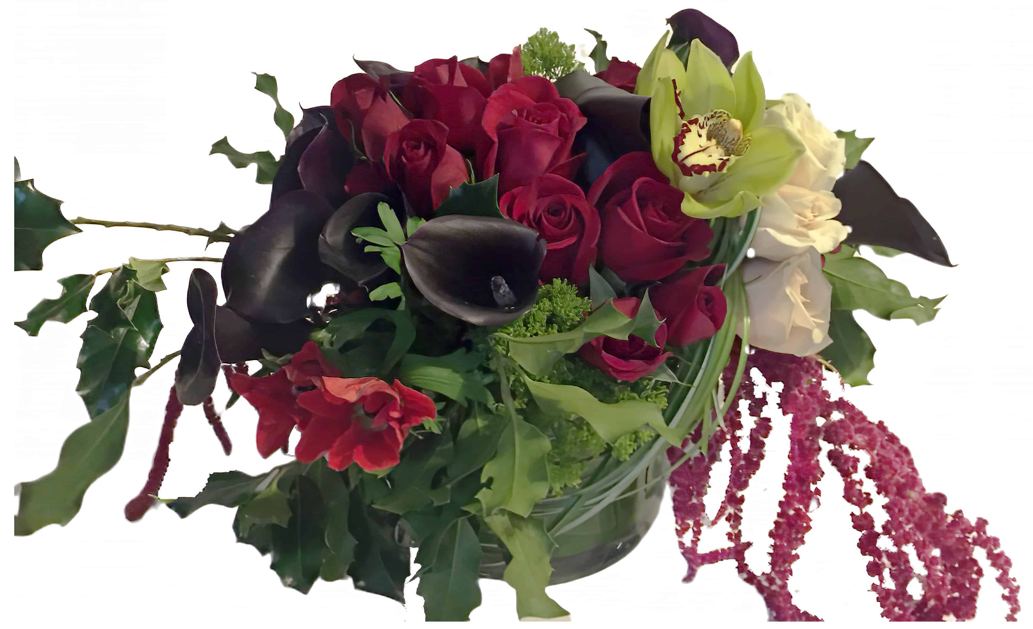 Dark Beauty Flower Arrangement