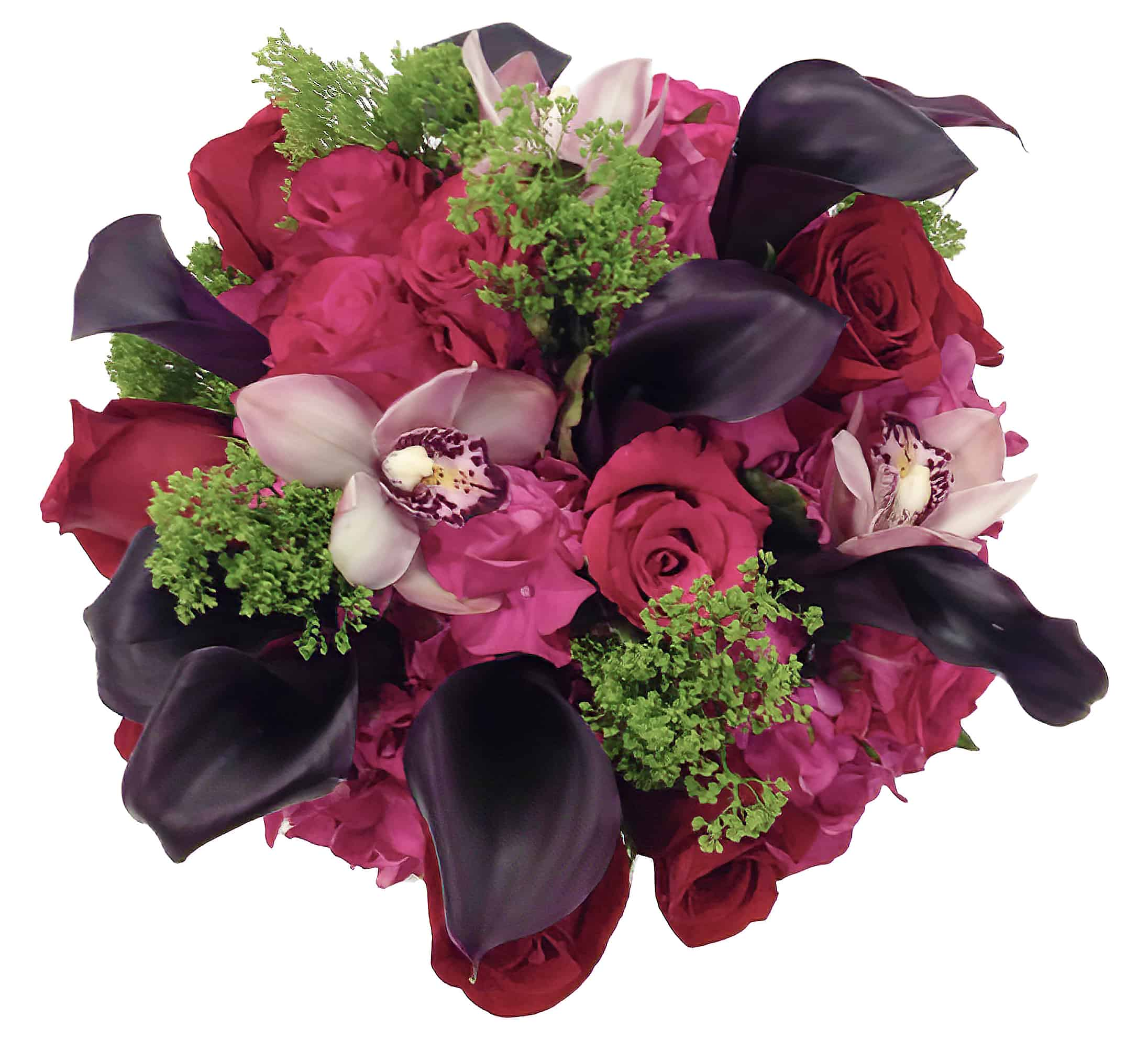 Midnight Romance Flower Arrangement