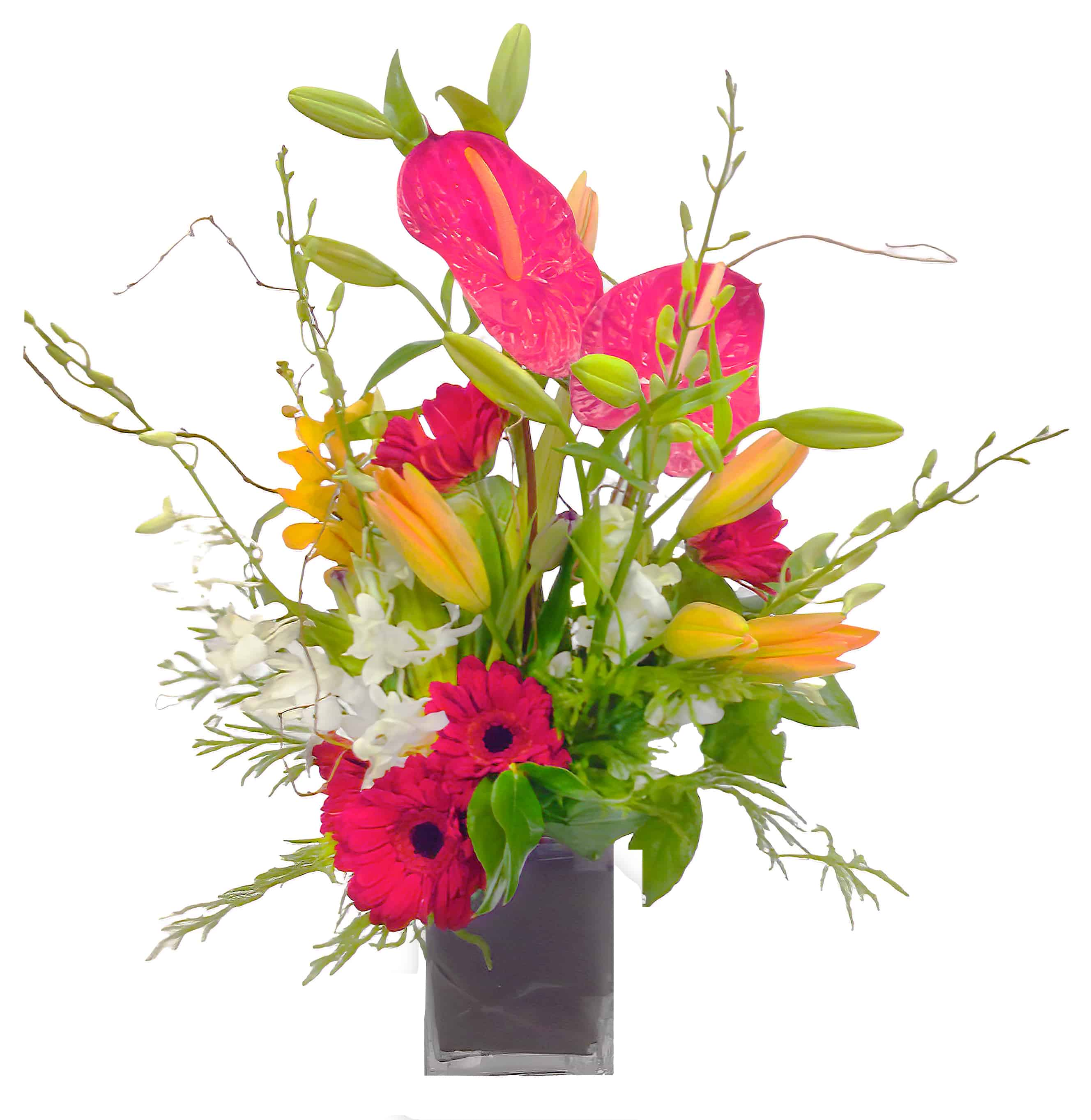 A Splash of Happiness Flower Arrangement