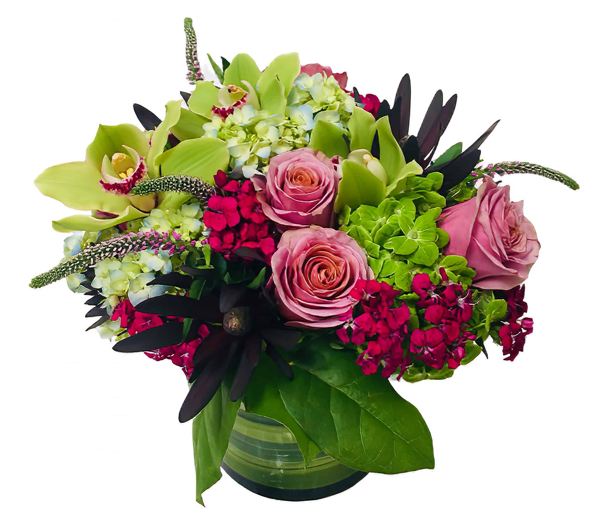 Magenta Summer Flower Arrangement