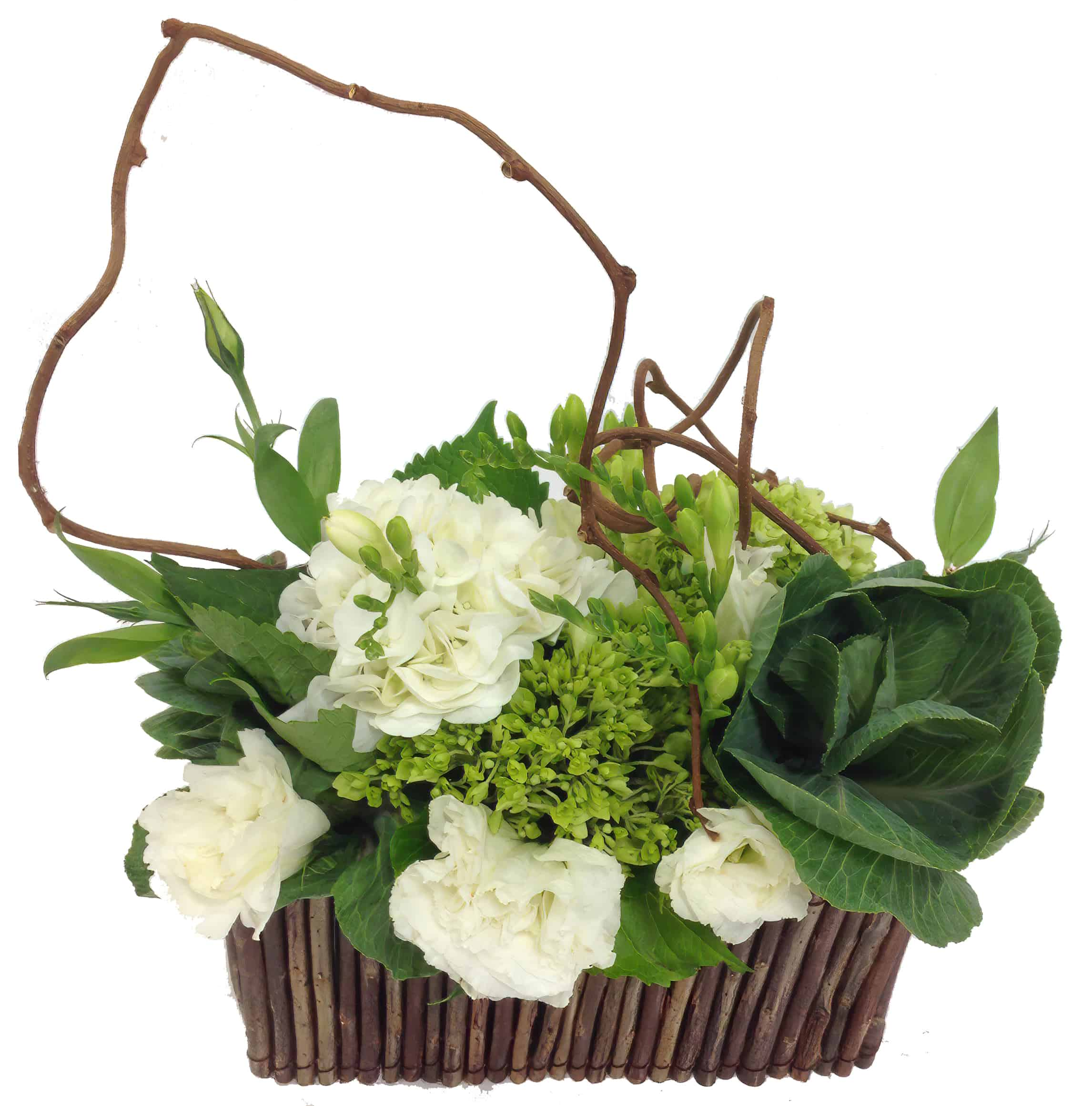 Natural White Flower Arrangement
