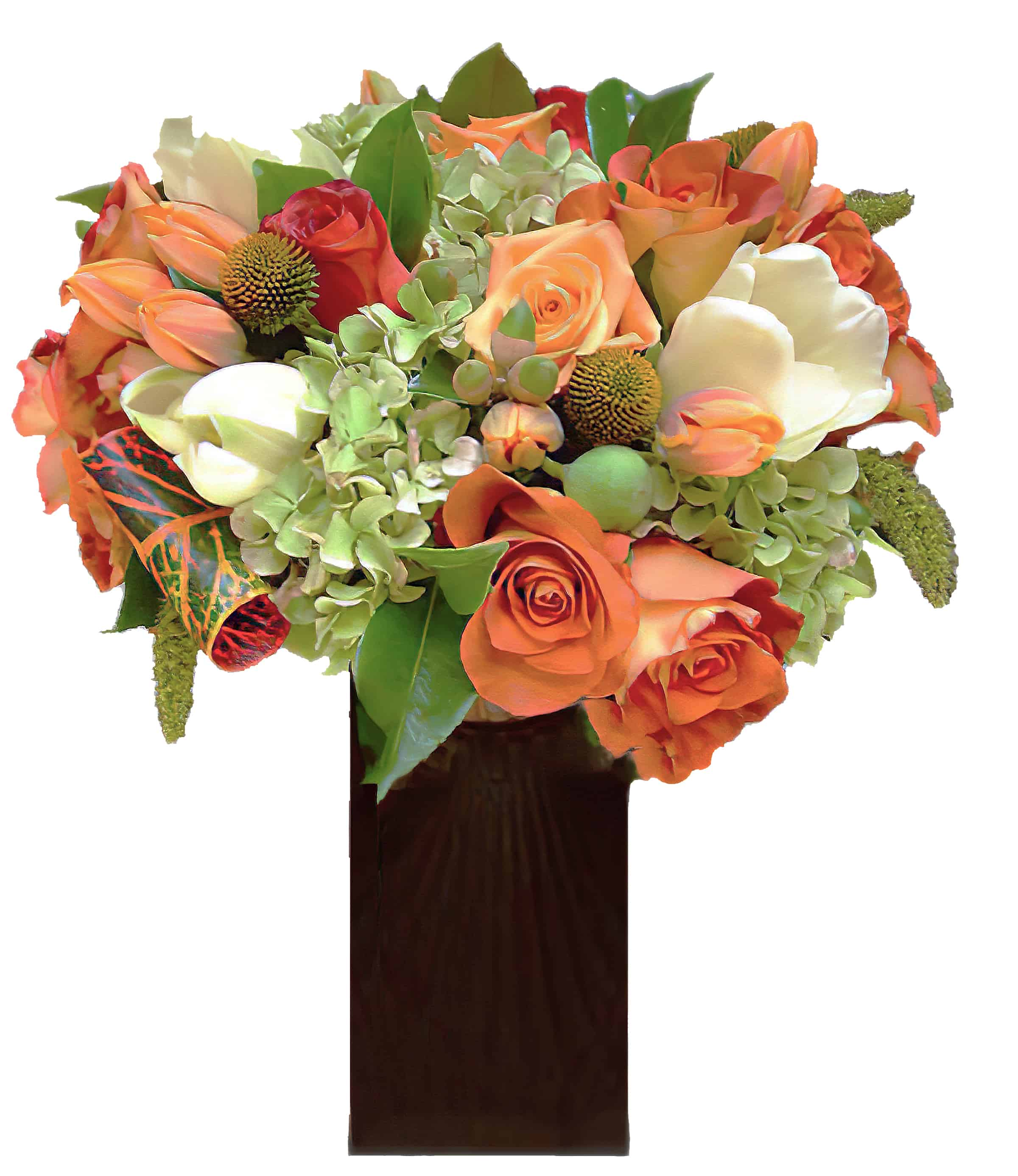 Orange Crush Floral Arrangement