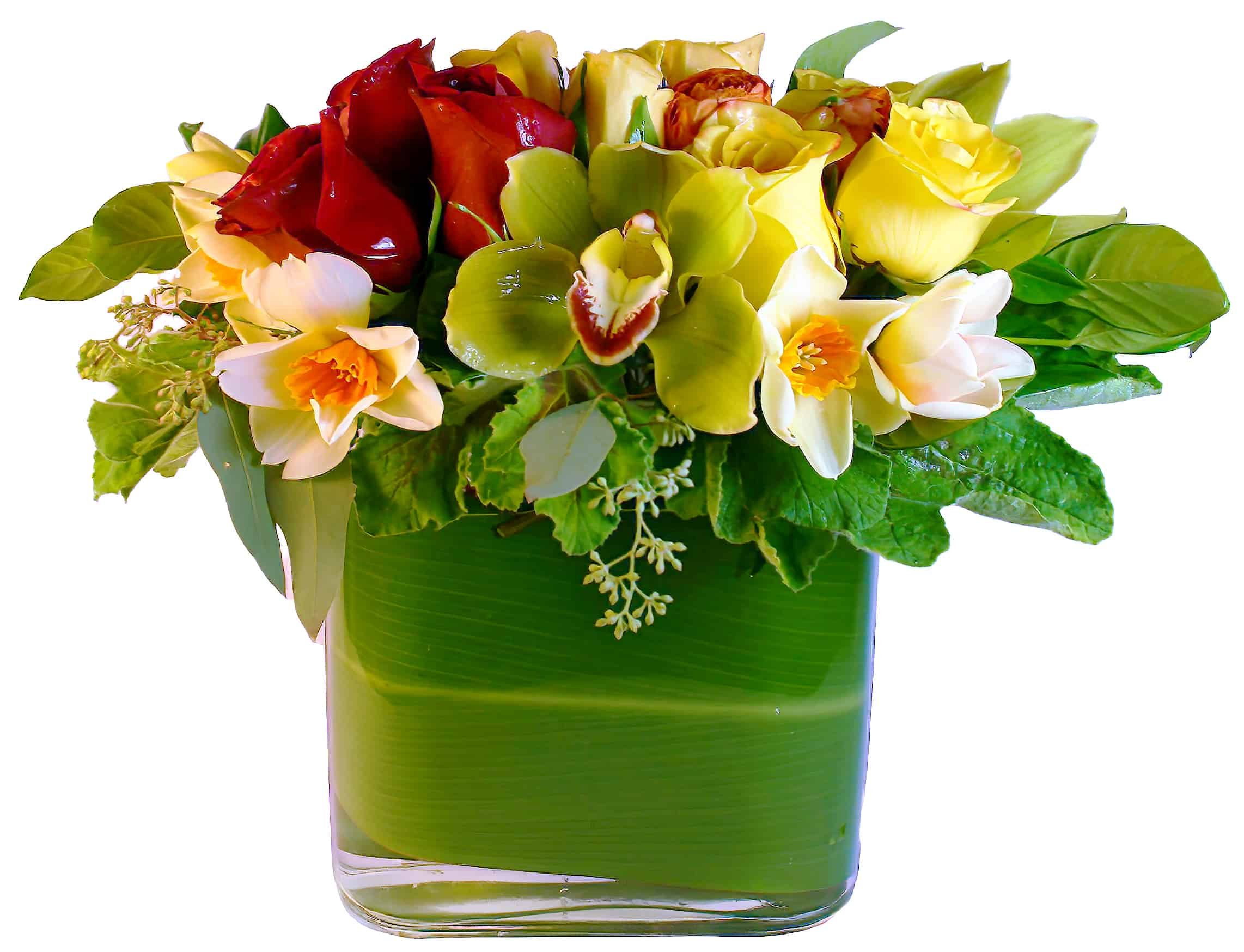 Daffodil Surprise Floral Arrangement