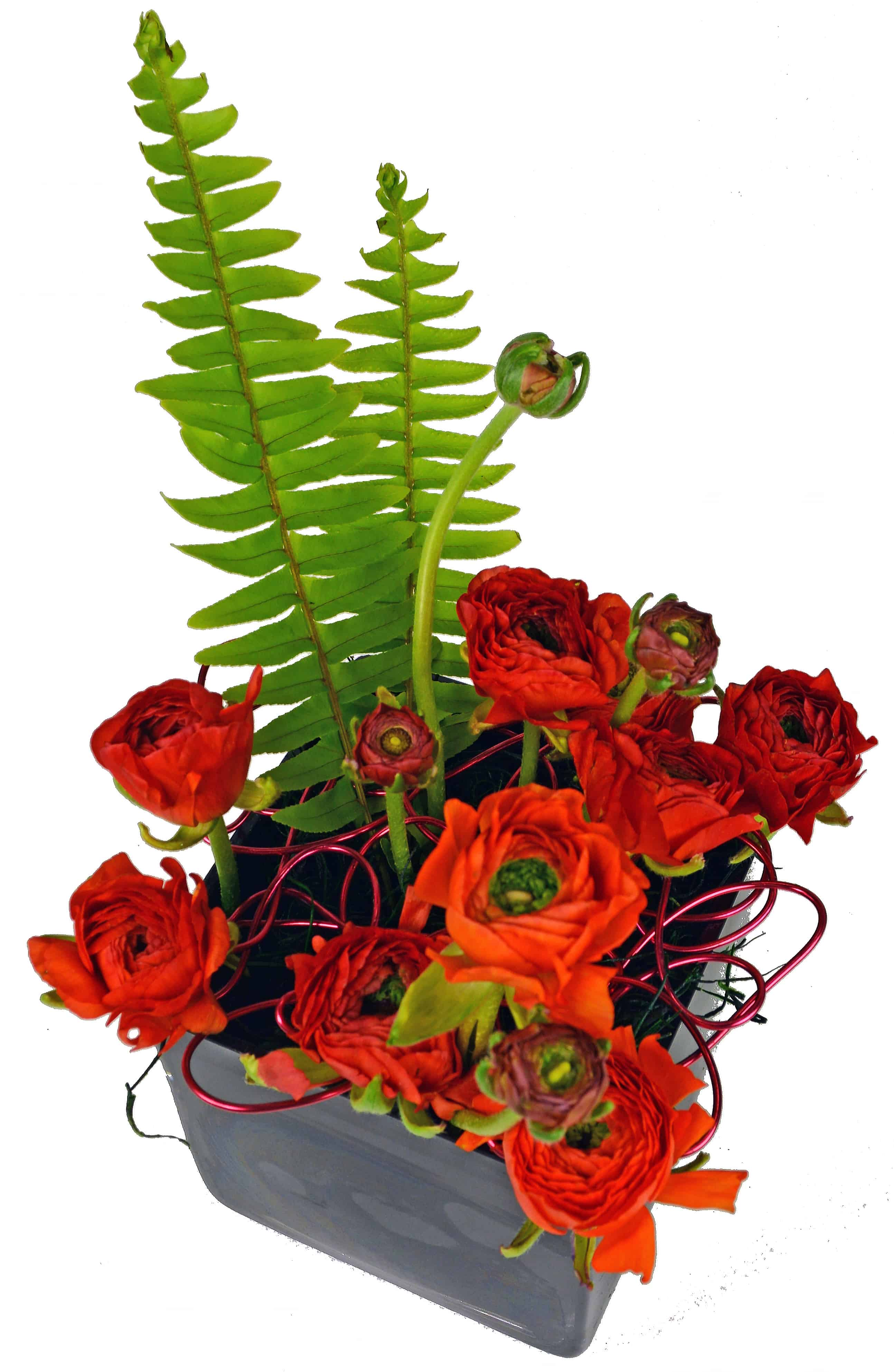 Black Hole Flower Arrangement
