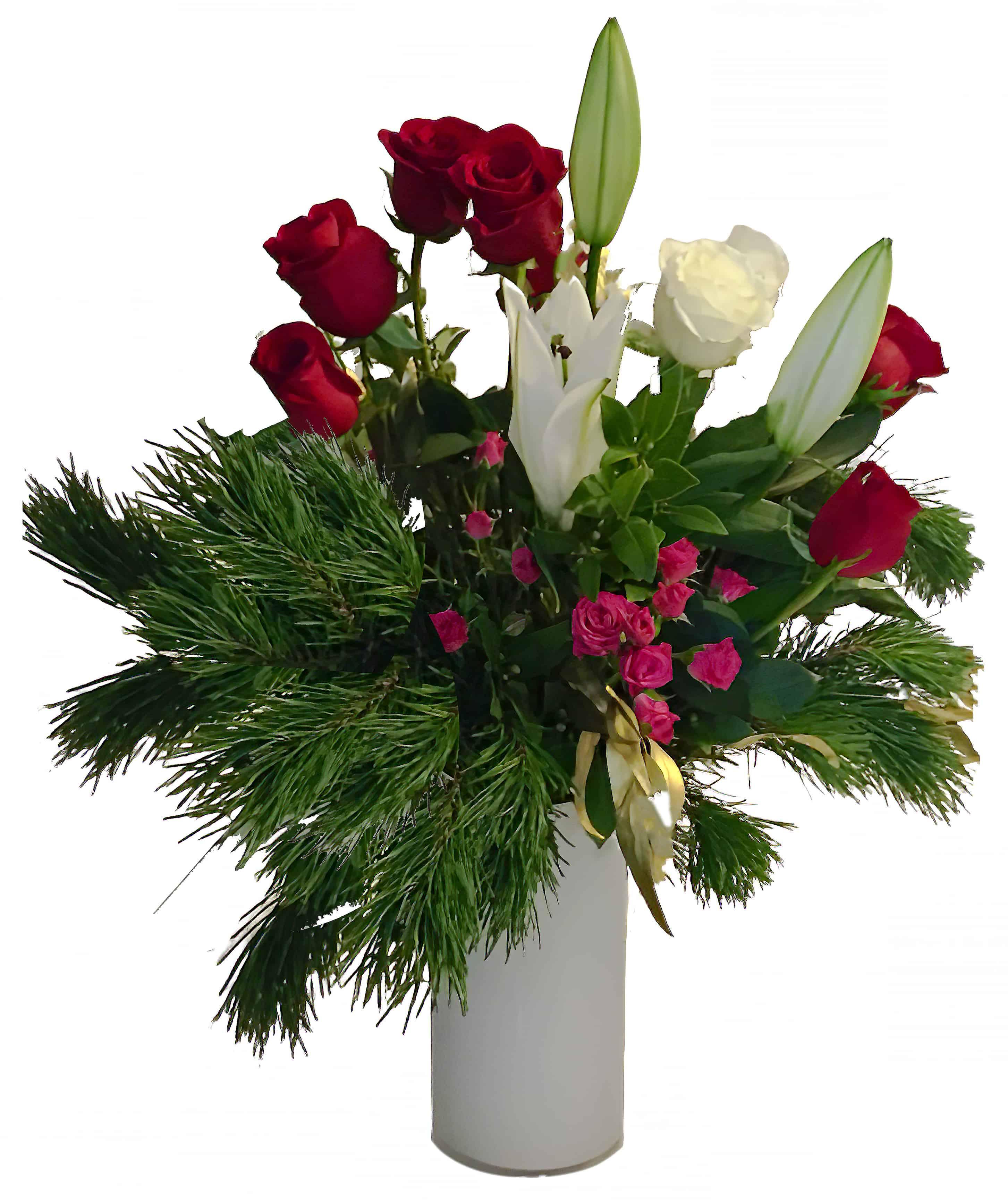 Scent of Pine Flower Arrangement