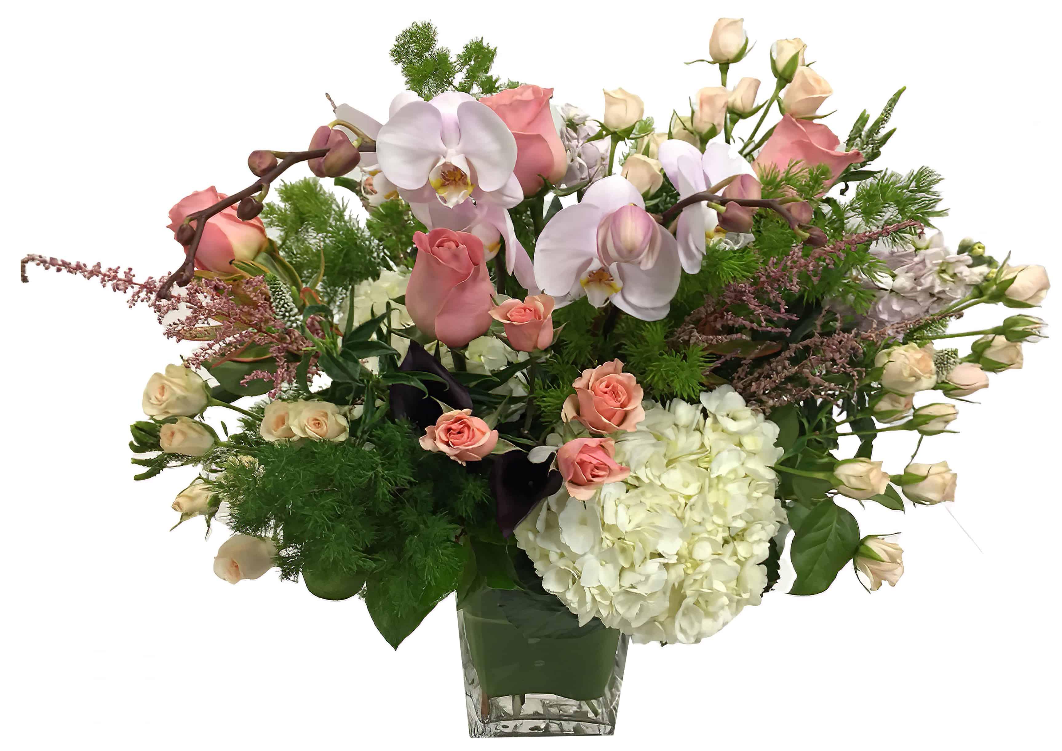 Orchid Treasure Flower Arrangement