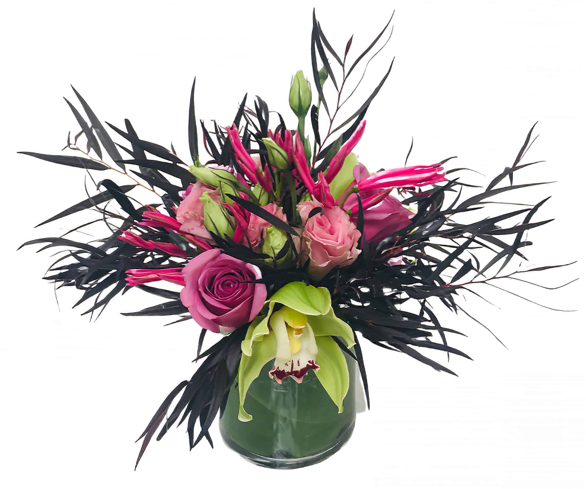 Tropical Passion Flower Arrangement
