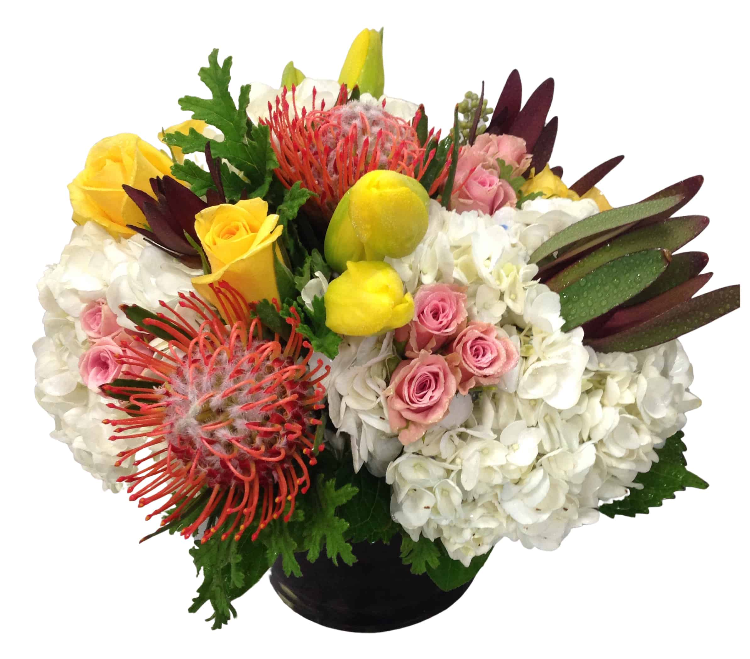 """Alto Unico"" Flower Arrangement"
