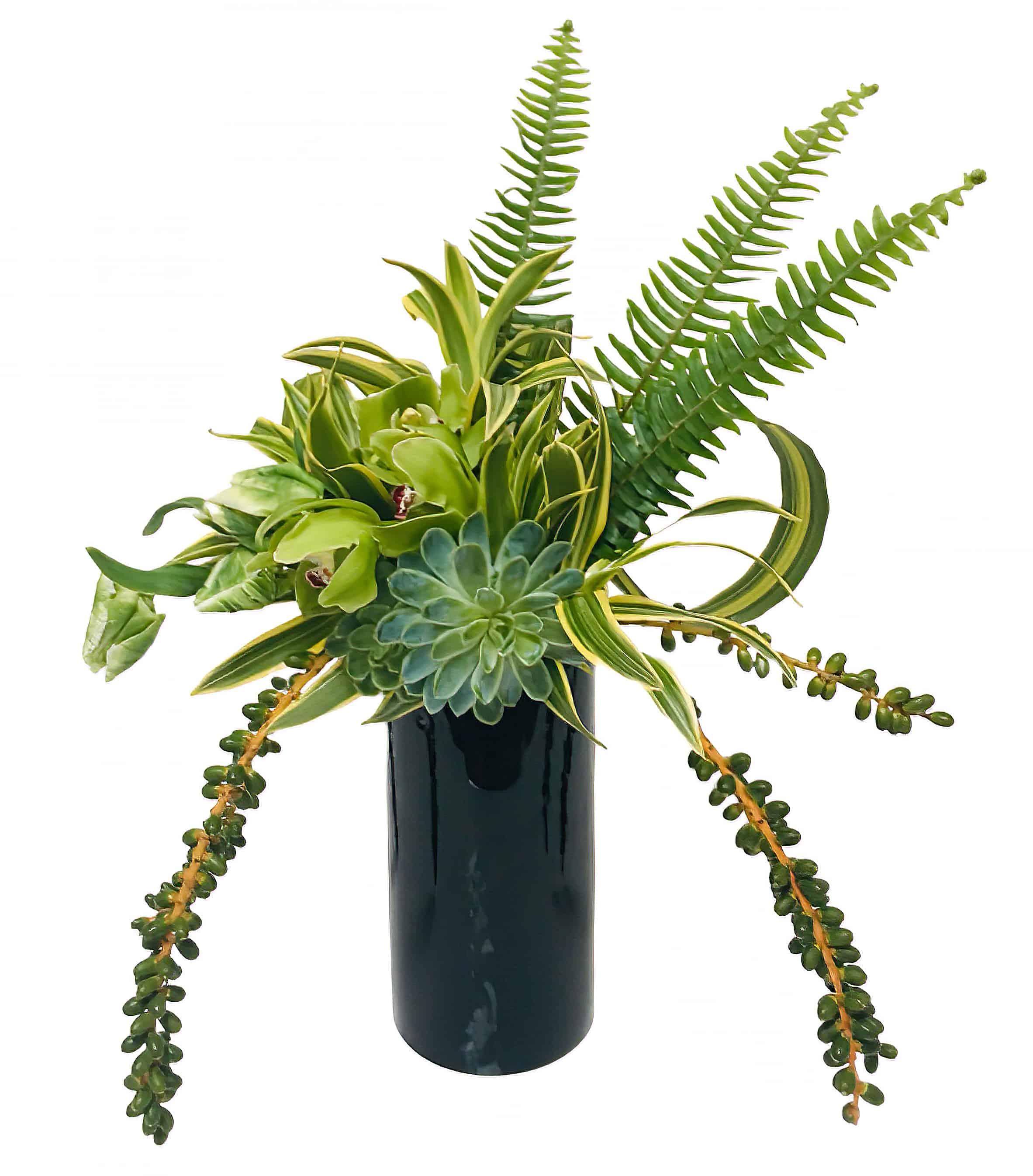 Vibrant Greens Flower Arrangement