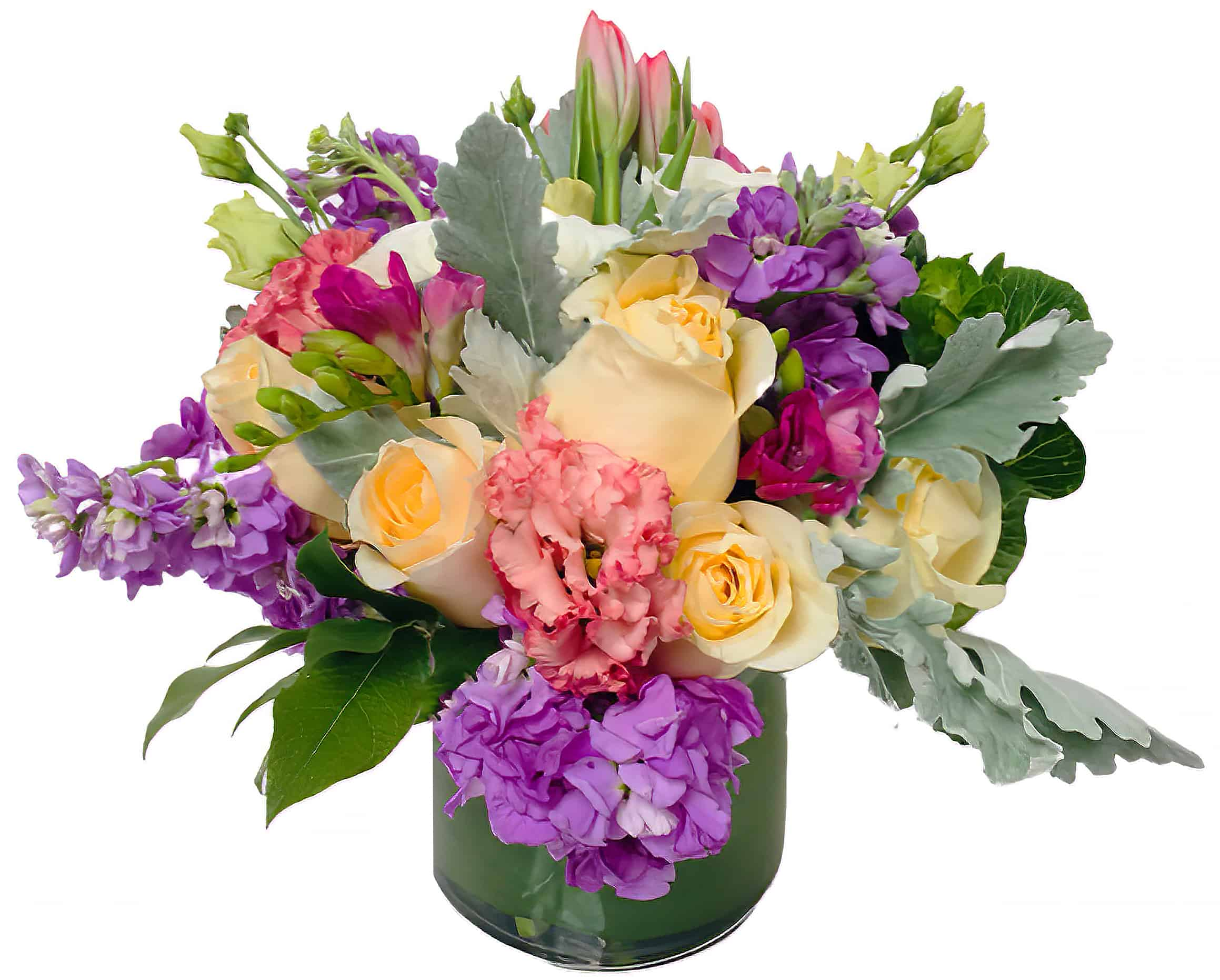 Lady Lisianthus Flower Arrangement