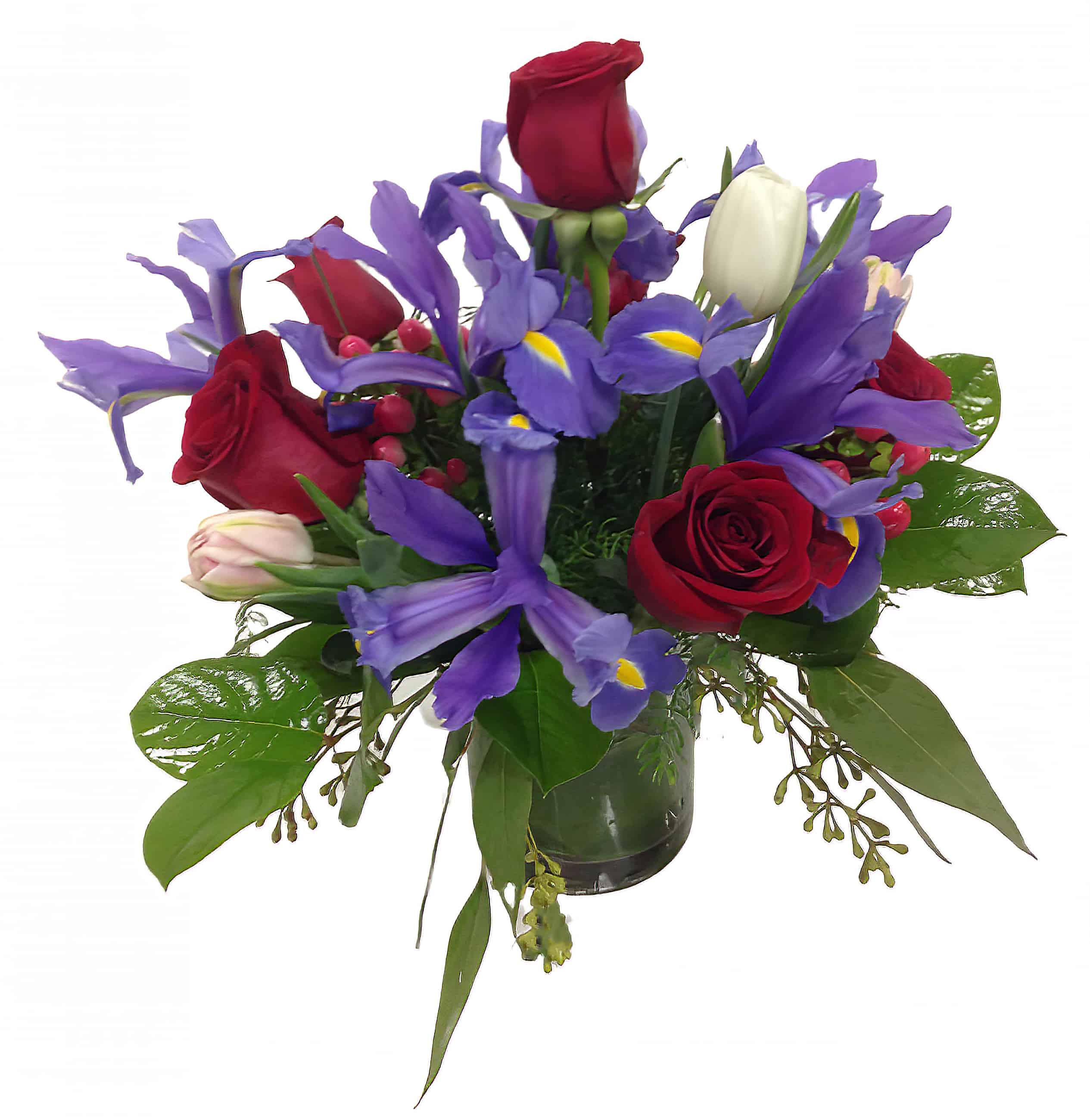 Iris Dream Flower Arrangement