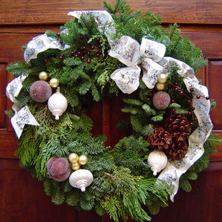 Cedar Wreath of the Season