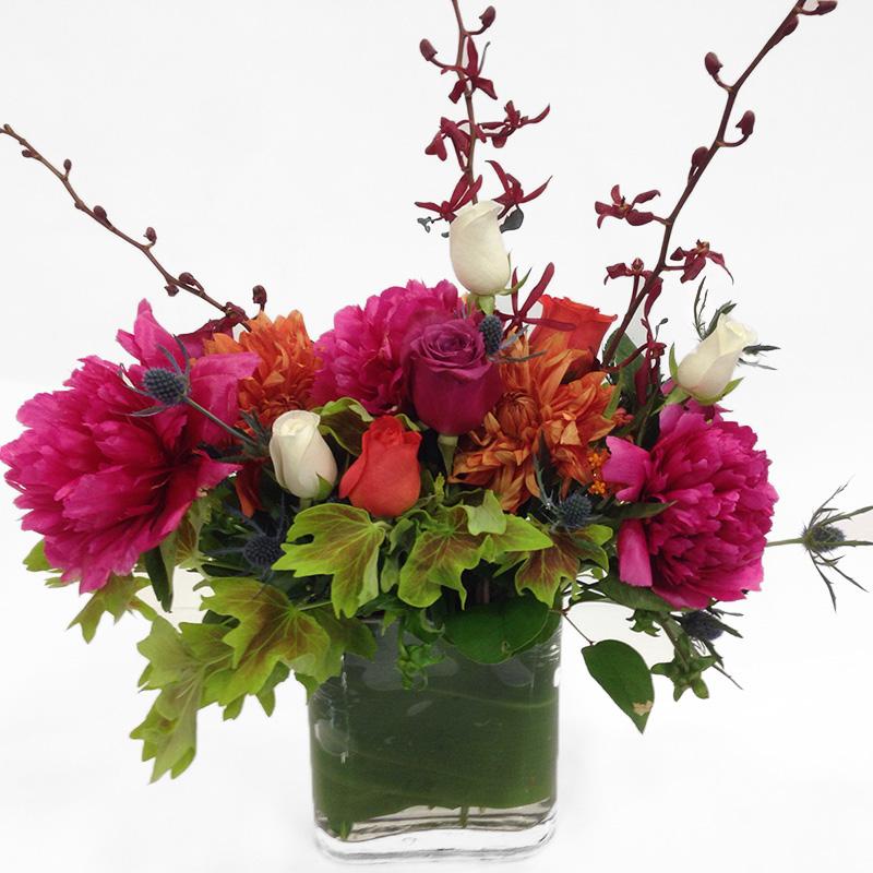 Taller Peony Mix Floral Arrangement