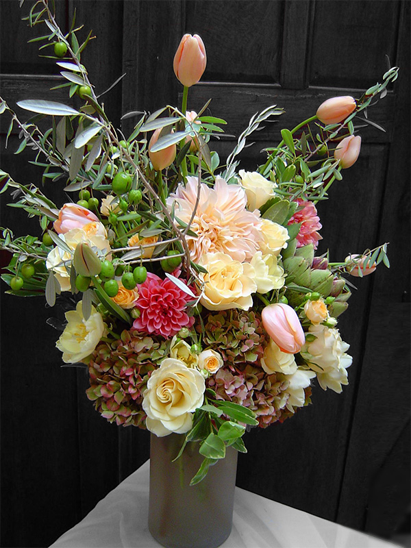 Cafe au Lait Floral Arrangement