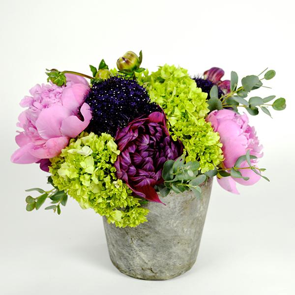 Peony Garden Mix Flower Arrangement