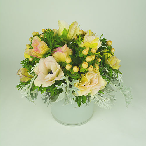 Immaculate Light Flower Arrangement
