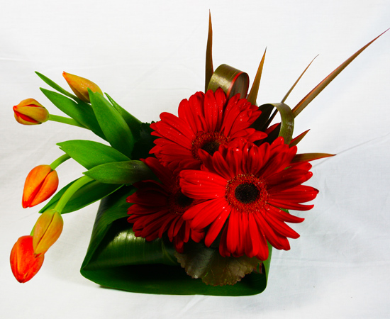 Chirpy Flower Arrangement