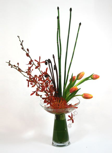 George Jetson Ikebana Flower Arrangement