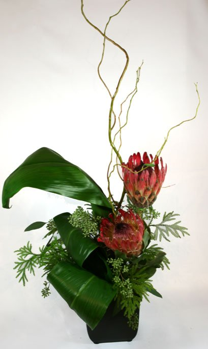 Ikebana di Nancy Flower Arrangement