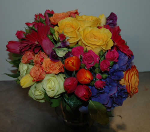 Technicolor Delight - Flower Arrangement