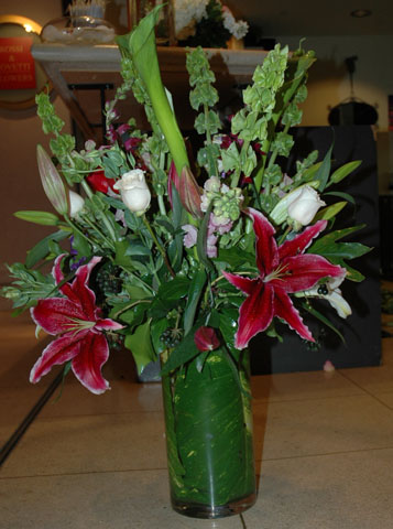 """Truth or Dare"" Flower Arrangement"