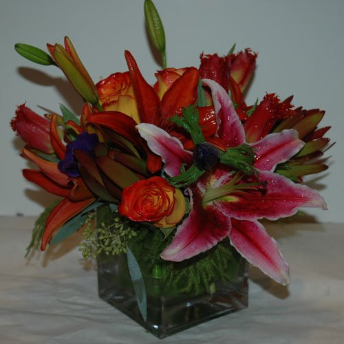 """Mid Summer Nights Dream"" Flower Arrangement"
