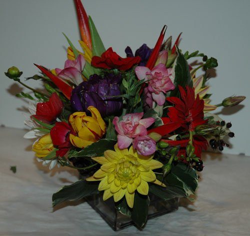 Tropical Collage - Flower Arrangement