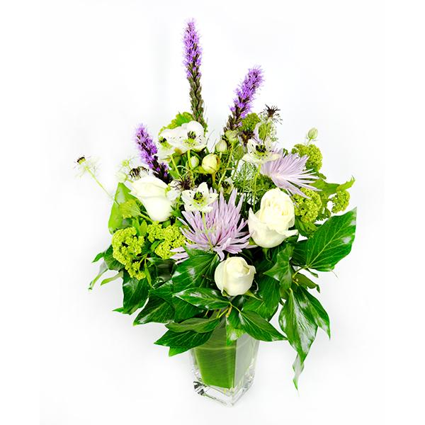 Pleasing Purples Flower Arrangement