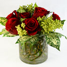 Dalmation Rose Floral Arrangement