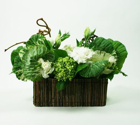 Natural White Floral Arrangement