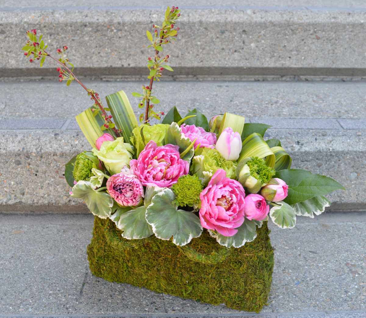 Pink Ladies Flower Arrangement
