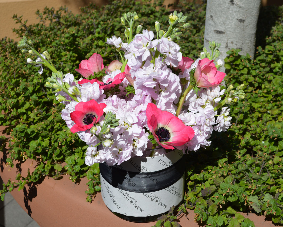 Pink Beauty Flower Arrangement $50 San Francisco Florist
