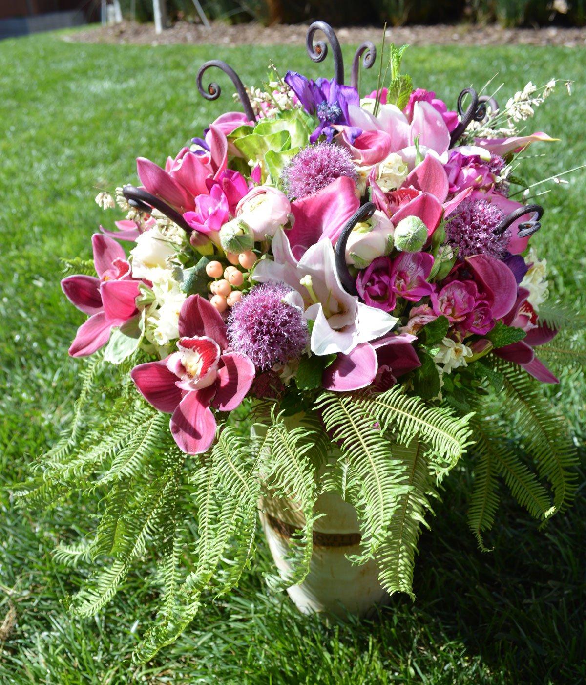 Celebration Flower Arrangement $280 San Francisco Florist