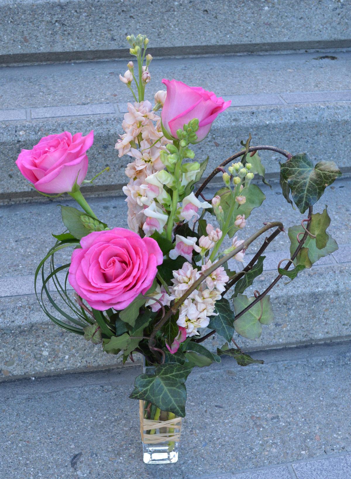 Ballet Slippers Flower Arrangement $39 San Francisco Florist