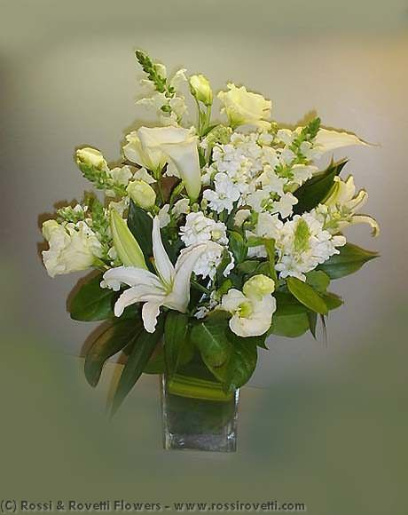 Wonderful Whites & Creams Flower Arrangement