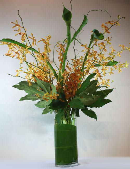 Home decor floral fresh arrangement delivered in bay area podesta baldocchi flowers san - Terras arrangement ...