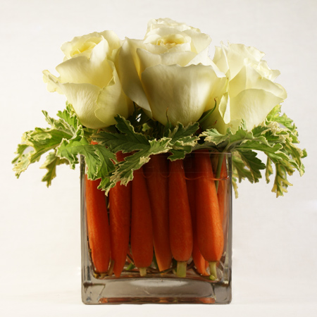 Carrot Cake Floral Arrangement