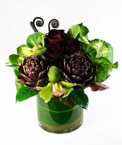 Go Purple Flower Arrangement