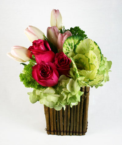 Natural Floral Arrangement