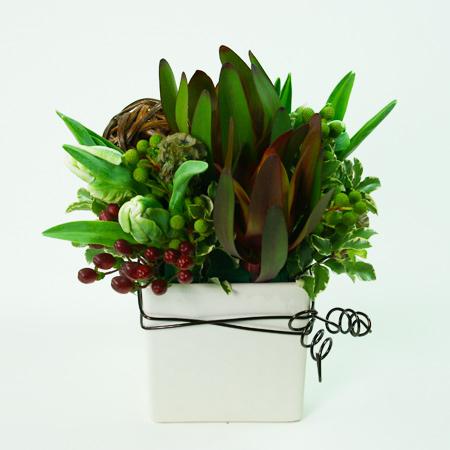 Blast of Brown Flower Arrangement