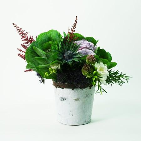 Natural Purples Flower Arrangement
