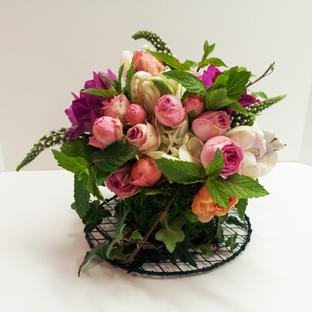 Cup of Tea Flower Arrangement | San Francisco Florist Since 1871 Free Bay Area and San Francisco Flower Delivery