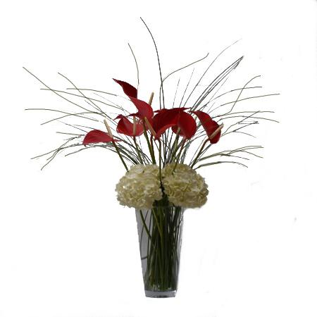 Tropical Snow Flower Arrangement