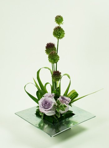 Lavender Beauty Flower Arrangement