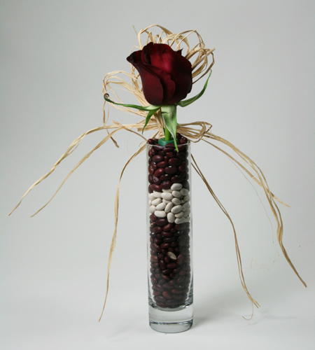 Beans and Reds Flower Arrangement