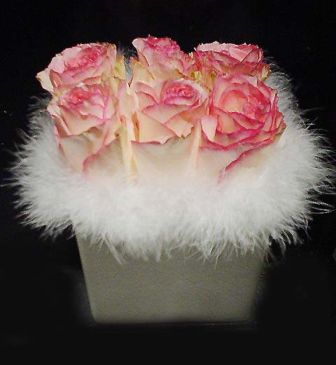 Sexy Pink Roses - Half Dozen Flowers | San Francisco Florist Since 1871 Free Bay Area and San Francisco Flower Delivery