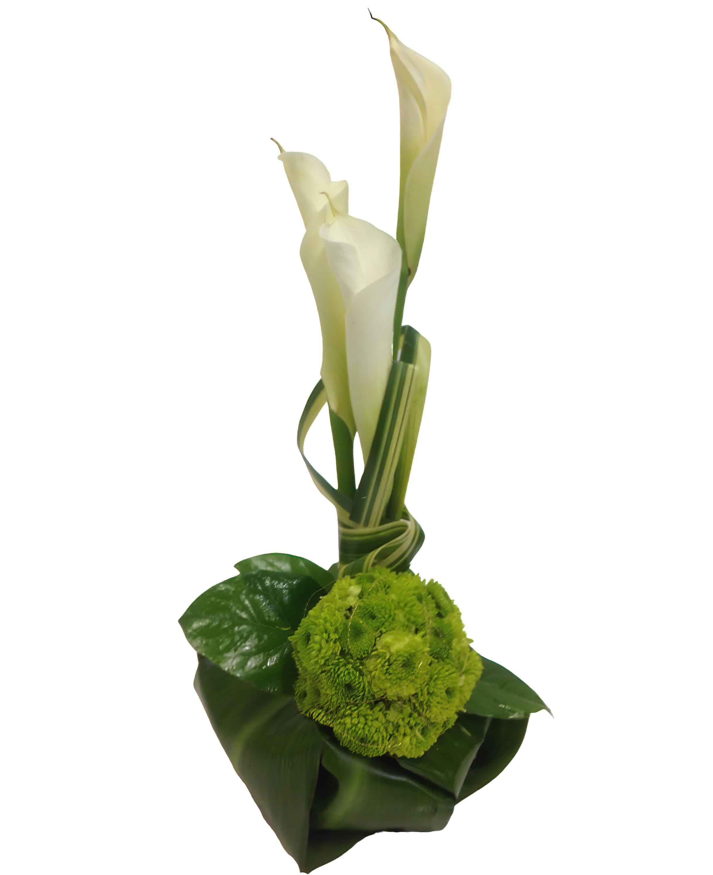 Calla mi Diorno Flower Arrangement