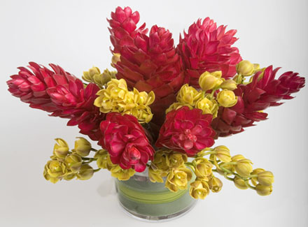 Simply Tropic Flower Arrangement