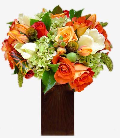 Orange Crush Floral Arrangement
